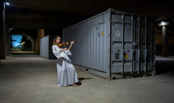 La violoniste - Photographe professionnel Lyon - Arrighi Francois - Photo Lyon
