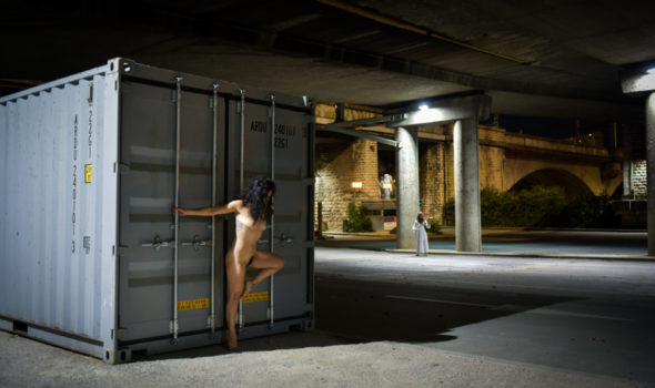 Melodie en SOl - Photographe Professionnel Lyon - Francois Arrighi - Photo Lyon - Duo Violoniste et danseuse