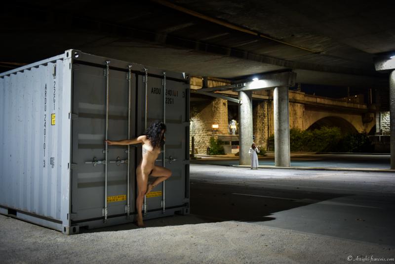Mélodie en sol - Photographe Professionnel Lyon - Francois Arrighi - Photo Lyon - Duo Violoniste et danseuse