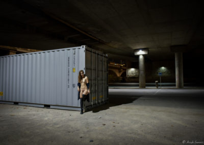 La citadine - Photographe Professionnel Arrighi Francois - Lyon Mode Nu