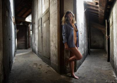 Glamour en urbex - Photographe Professionnel Lyon et Paris - Arrighi Francois